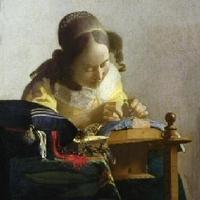 A csipkeverő nő
