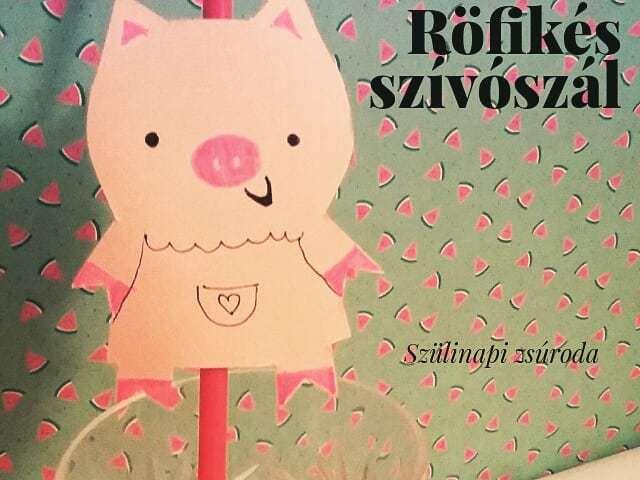 Röfis bulik elengedhetetlen kelléke #röfi #szulinapizsuroda  #diy #szívószál