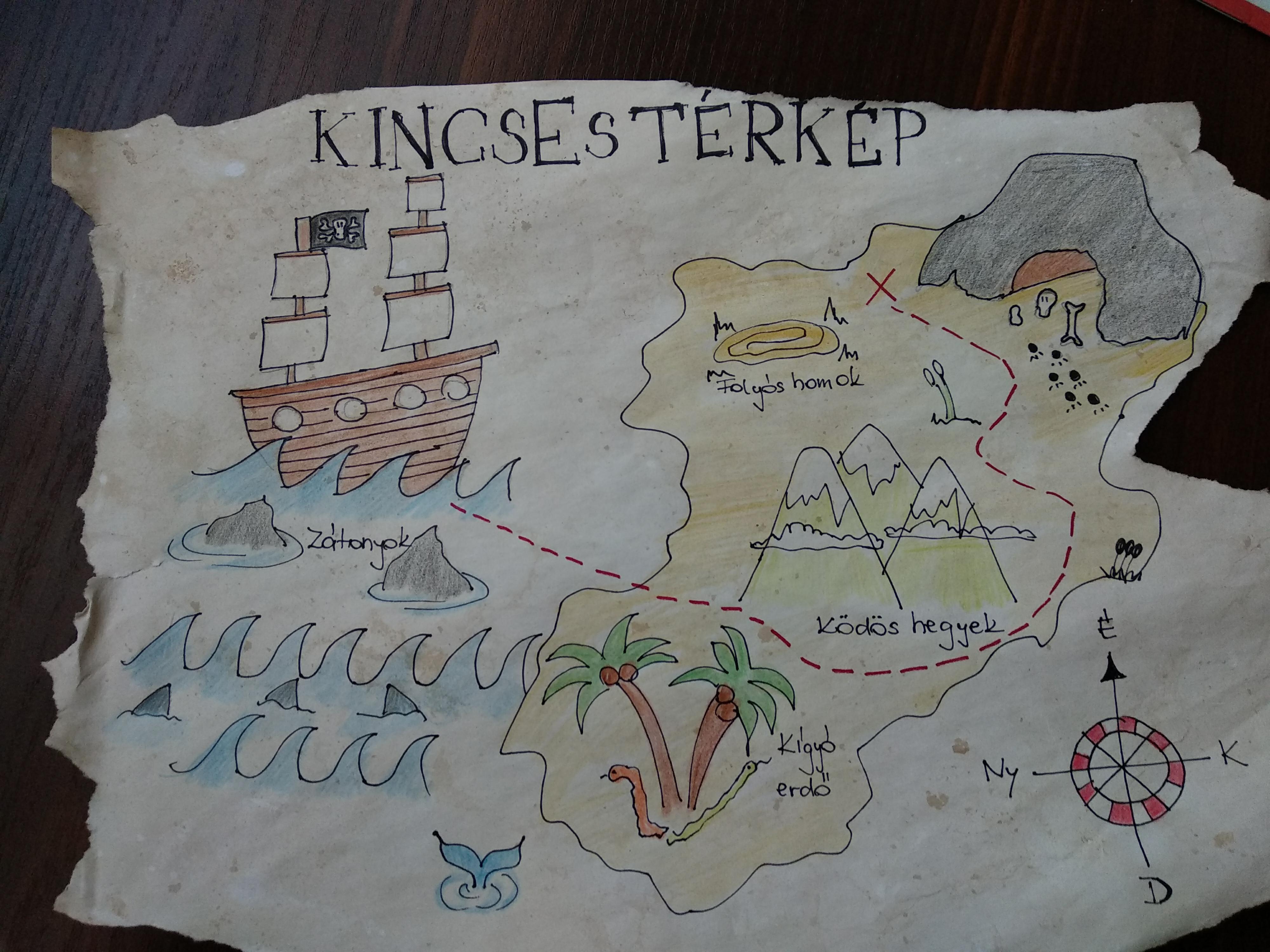 kincses térkép készítése Kincses térkép   Szülinapi zsúroda