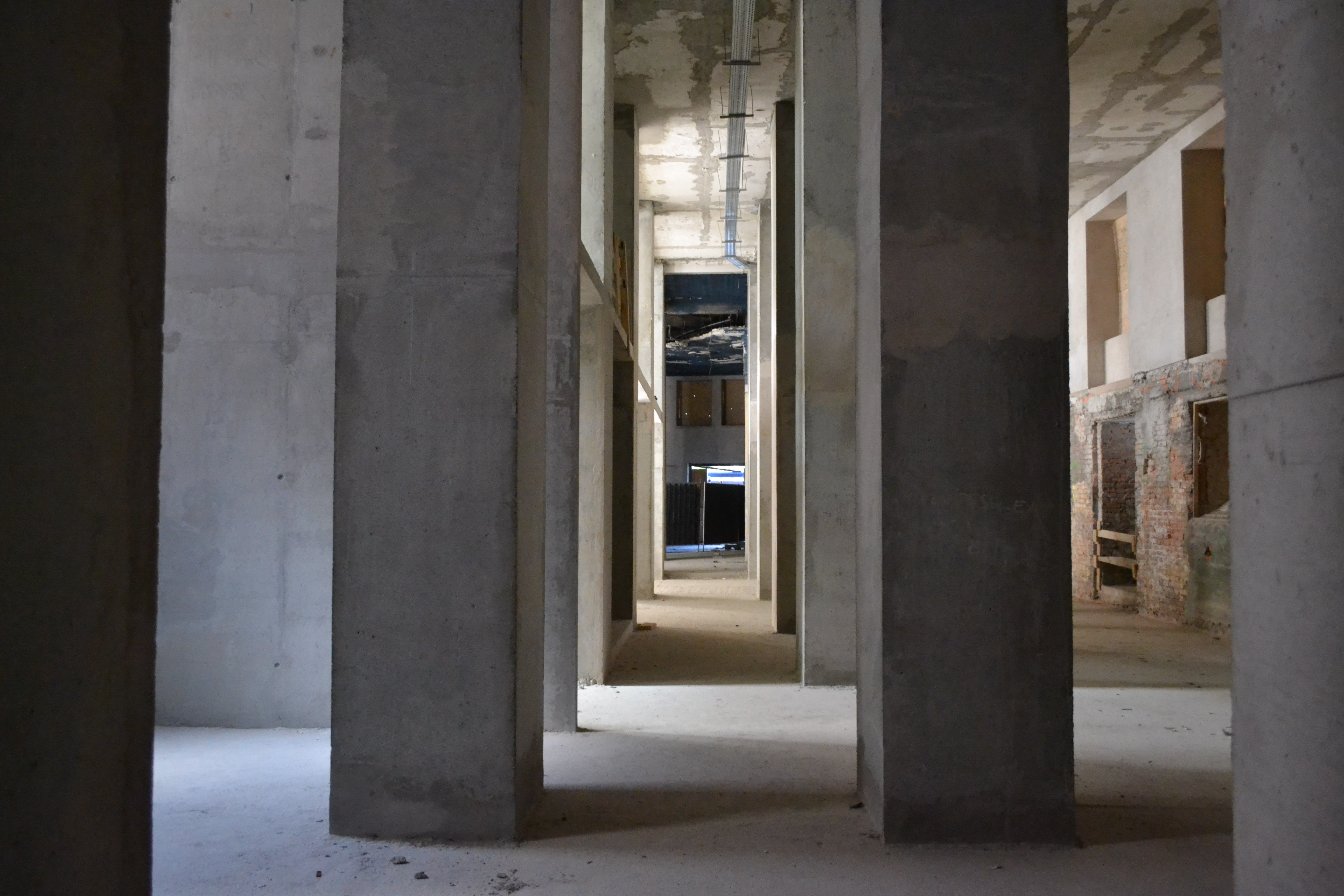 A földszinti részen kap majd helyet a Magyar Pénzmúzeum (fotó: Buda Palota)