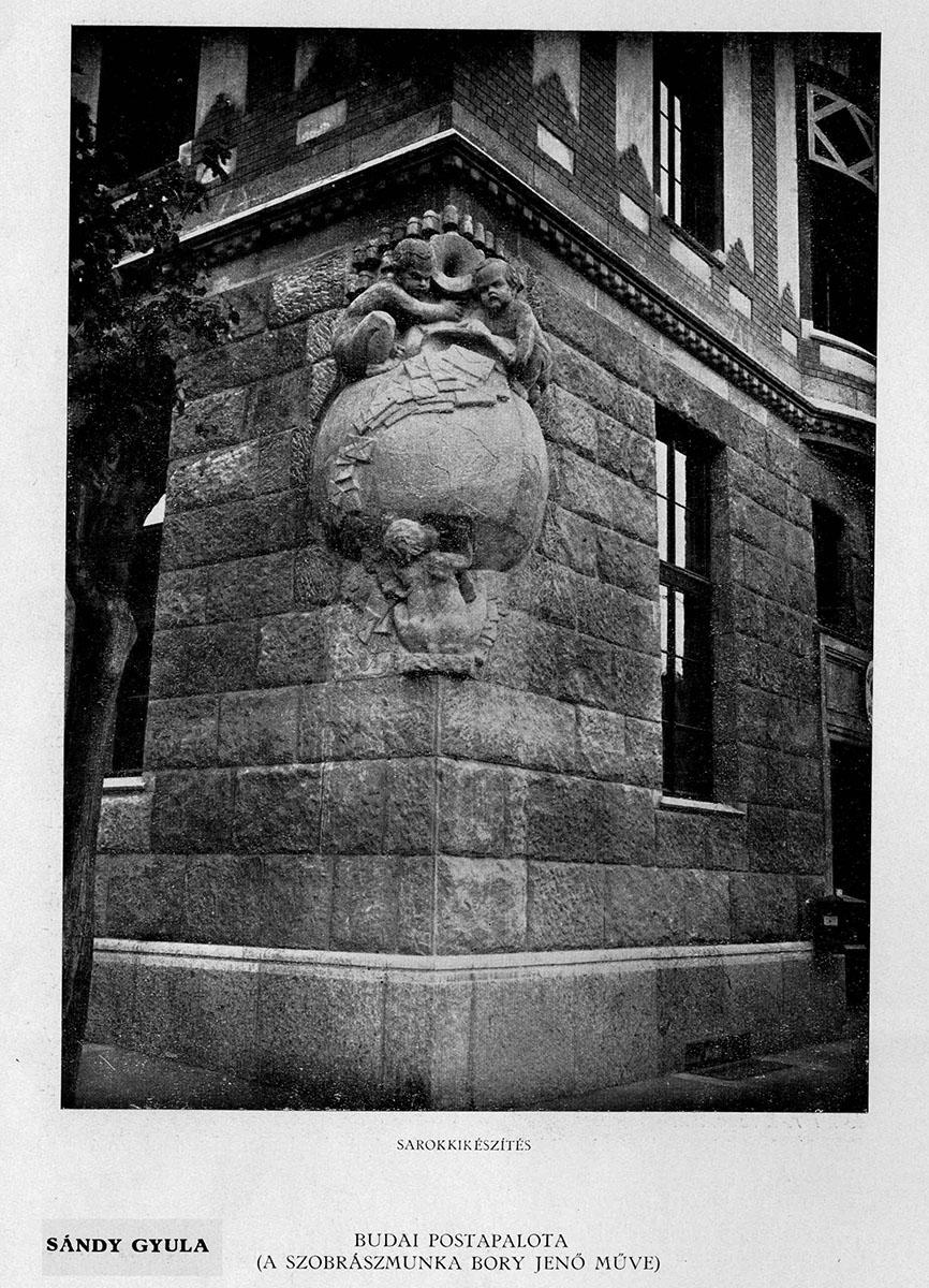 A mára elpusztult szobor, amit szintén rekonstruálnak